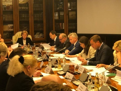 A meeting of the Organizing Committee of the International Tchaikovsky Competition took place in Moscow