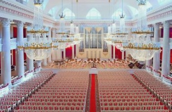 Grand Hall of the D. D. Shostakovich St. Petersburg Academic Philharmonia